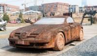 Китаец собрал Mercedes из... обычного кирпича