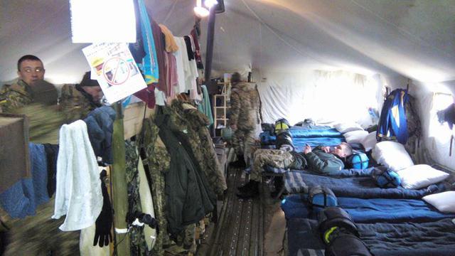 ФОТО: Где проходят подготовку мобилизованные украинцы?