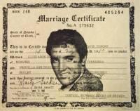 Налетай, торопись... С молотка уйдет свидетельство о браке Элвиса и Присциллы Пресли, а также гастрольный автобус музыканта
