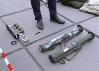 На вокзале в Хмельницком задержан военный, который вывез из зоны АТО оружие и боеприпасы
