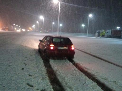 ФОТО: Запад Украины завален снегом