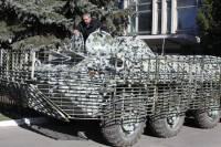 Винницкие силовики для защиты города получили уникальный бронетранспортер