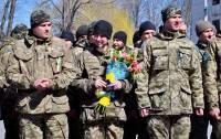 В Васильков из зоны АТО вернулся сводный отряд Воздушных Сил ВСУ