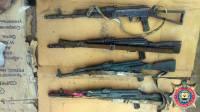 В Артемовском районе обнаружили склад боеприпасов