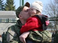 Волынские силовики отправились на Донбасс