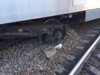 Пассажир сошедшего с рельс под Харьковом скоростного поезда выложил в Сеть фото случившегося