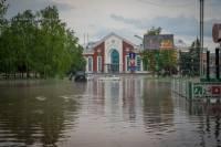 Из-за ливня Краматорск ушел под воду