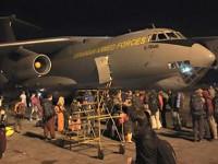 У самолета, эвакуирующего украинцев из Непала, пробило колесо. Но это не помешало ему вылететь в Баку