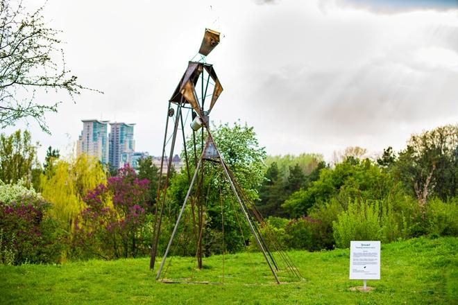 ФОТО: В Киеве появились 15 новых необычных скульптур