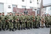 Днепропетровские силовики отправились в зону АТО