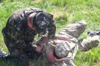 На Черниговщине военные перед отправкой на Донбасс прошли спецкурс по выживанию