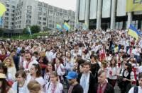 Сегодня в Украине - День вышиванки