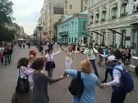 В Москве прошел свой парад вышиванок