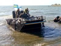 Морская пехота активно учится защищать водные рубежи Украины