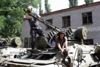 В Днепропетровске нацгвардейцы осваивают новые типы вооружения