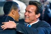 Если бы я был президентом США, я  бы делал свою работу лучше, чем парни, которые сейчас сидят в Белом доме /Шварценеггер/