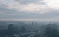 Содержание вредных веществ в воздухе Киева в 4 раза превышает норму /КГГА/