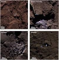 На комете Чурюмова-Герасименко нашли запасы водяного льда