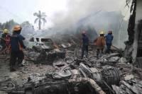 Стали известны причины крушения самолета, унесшего более 100 жизней в Индонезии