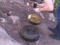 Подводный тайник с противотанковыми минами обнаружен в Днепропетровске в районе порта