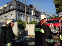 Потушив здание в Киеве, спасатели поняли, что это не посольство Йемена
