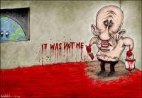 Годовщину крушения малазийского «Боинга» СМИ отметили карикатурами о ни в чем не повинном Путине