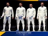 Украинские фехтовальщики уверенно взяли «золото» Чемпионата мира в Москве