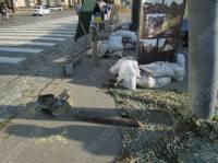 В центре Харькова установили снаряд от «Смерча», которым боевики обстреливают наших военных