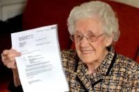 Британские врачи выявили беременность у 100-летней старушки