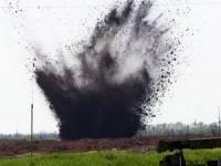В поле под Волновахой женщина подорвалась на мине