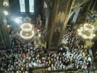 Порошенко пришел во Владимирский собор на молебен ко Дню Крещения Руси-Украины