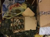 Украинский военный почтой из зоны АТО отправил своей племяннице несколько гранат