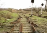 В Макеевке боевики срезали железную дорогу на металлолом