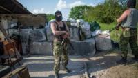 Перед блокпостом боевиков под Волновахой образовалась огромная пробка
