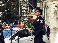 400 полицейских присягнули на верность народу во Львове в День Флага