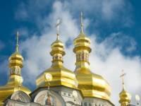 Онуфрий и Филарет вместе помолились за Украину