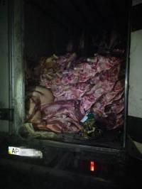 Под Волновахой задержали партию контрабандного мяса для боевиков