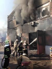 Пожар в Буче возник из-за нарушений правил безопасности