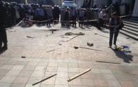 На Грушевского начались новые столкновения митингующих с правоохранителями