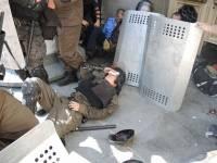 Слабонервным не смотреть. Опубликовано еще одно видео взрыва гранаты у стен ВРУ