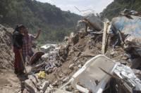 Жуткий оползень в Гватемале унес жизни по меньшей мере 73 человек