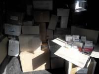 Вот так выглядит контрабанда лекарств на полмиллиона гривен