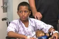 Десятилетний мальчик на Гаваях сумел освободиться из пасти акулы, щелкнув ее по носу