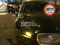 Пьяный россиянин посреди Киева протаранил две машины