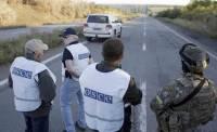 ОБСЕ продолжает фиксировать факты нарушения режима прекращения огня на Донбассе
