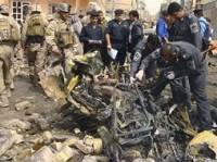 В Багдаде смертник взорвал похоронную процессию