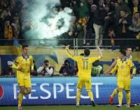Установлены хулиганы, которые жгли файеры на матче Украина - Словения