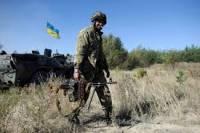 За сутки в зоне АТО ранения получили трое воинов. Погибших нет