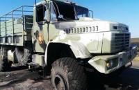 На Луганщине КамАЗ протаранил военный КрАЗ. Два человека погибли, 8 — ранены