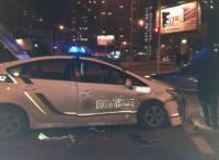 В Киеве полицейский автомобиль попал в очередное ДТП